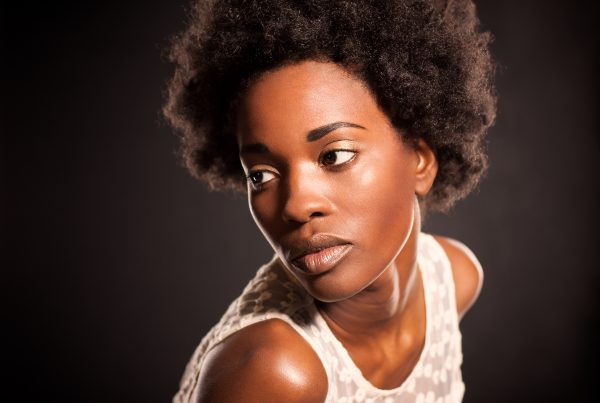 Model Headshot, Creative, Studio, Afro, African American, Black Model, Detroit, Photographer