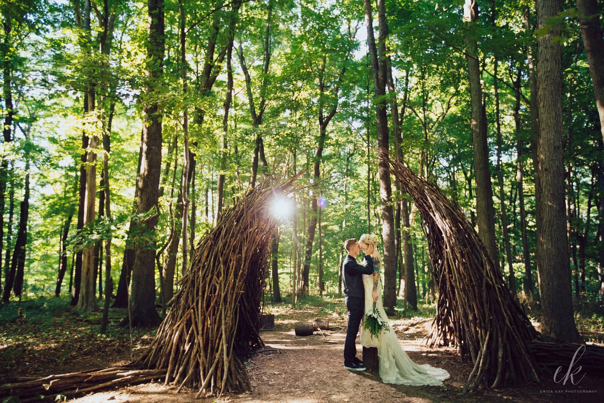 The Inn at Honey Run Wedding – Alex & Kelsey