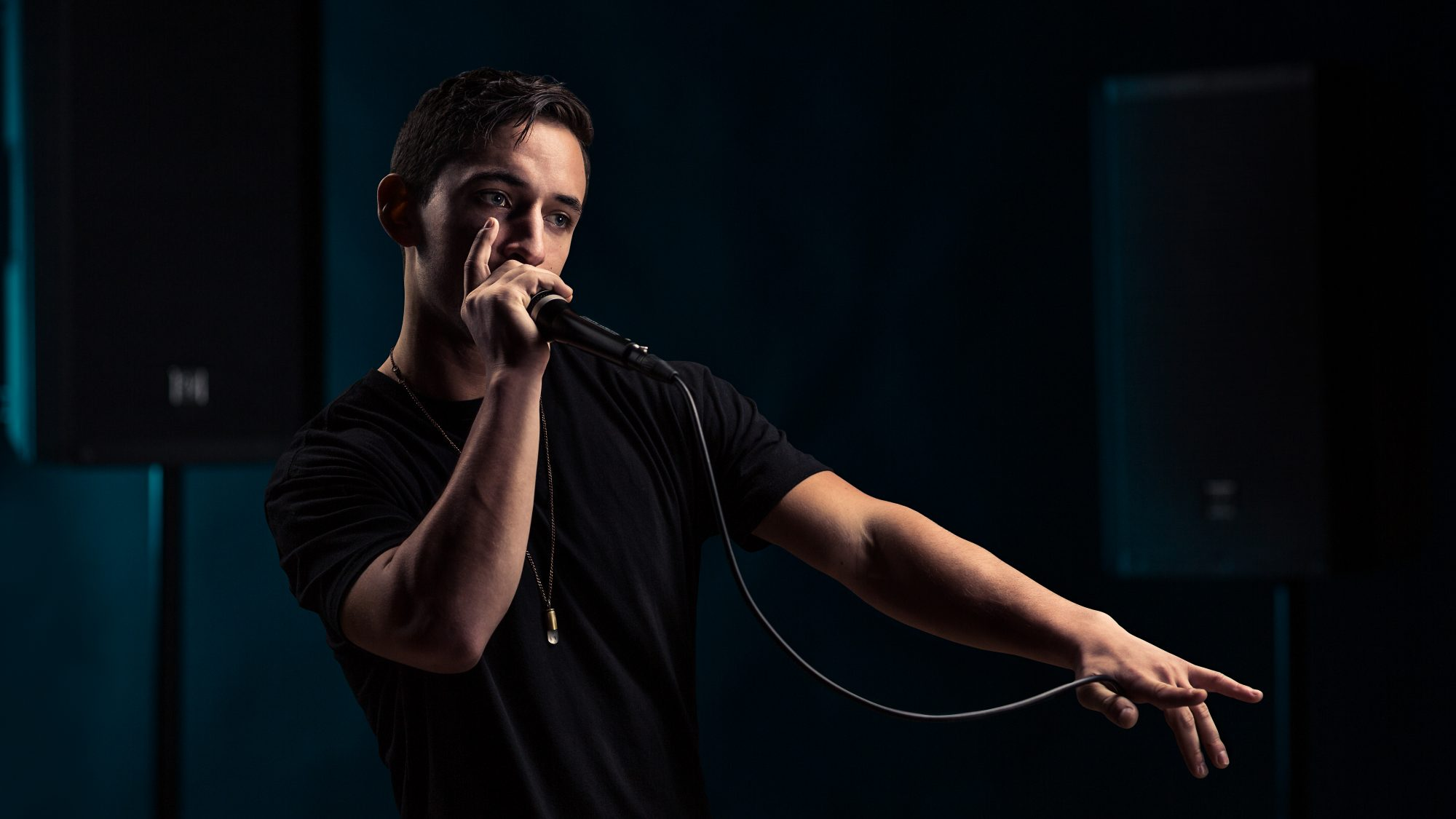 Photographing Columbus Beatboxer Alex Olsson