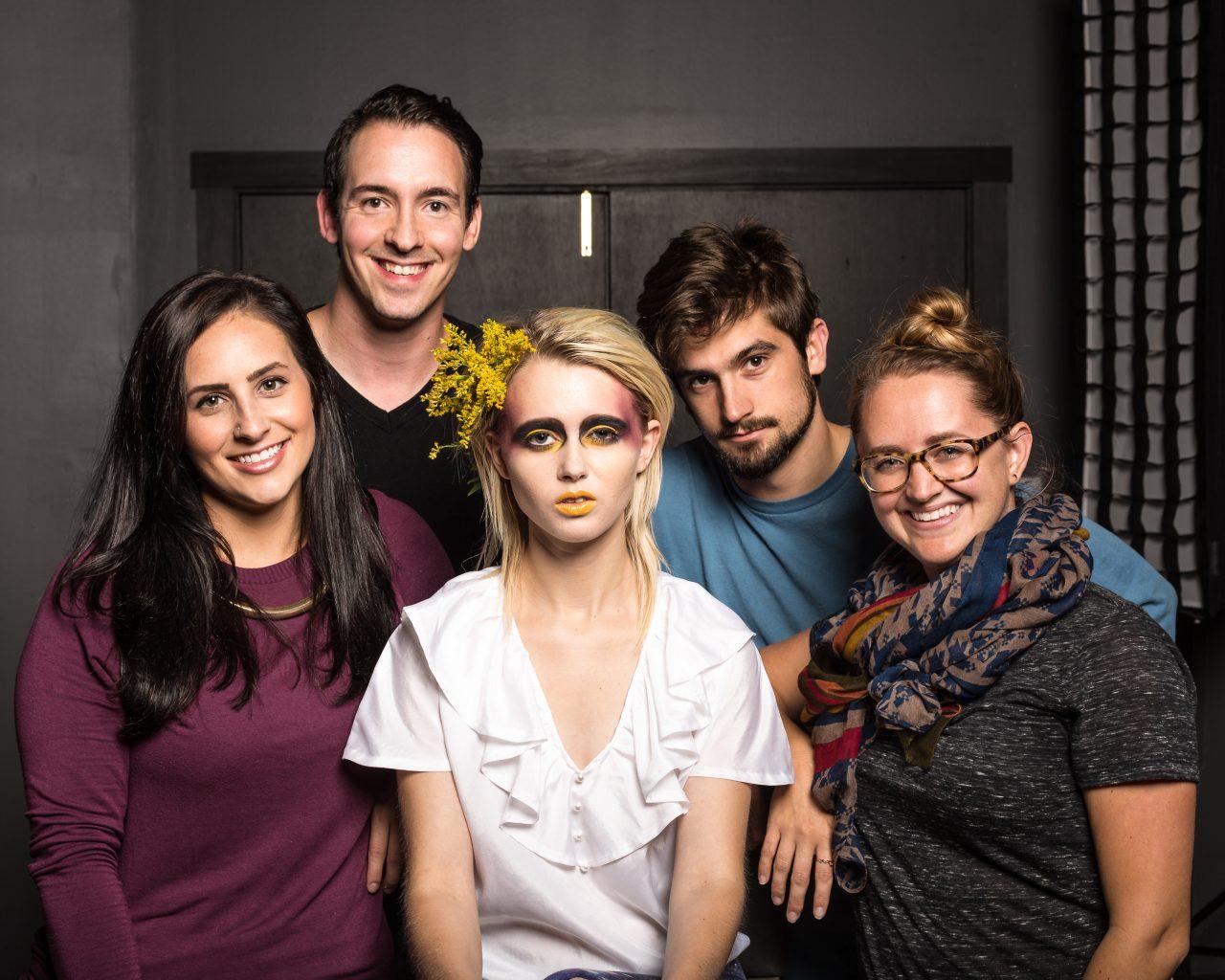 collaborative creative shoot